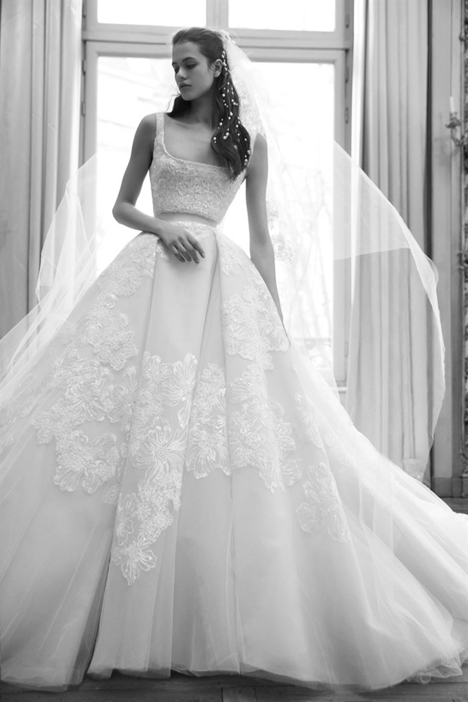 The Bride's Diary | Bridal Fashion Trends For Spring 2019 | Elie Saab Ballgown