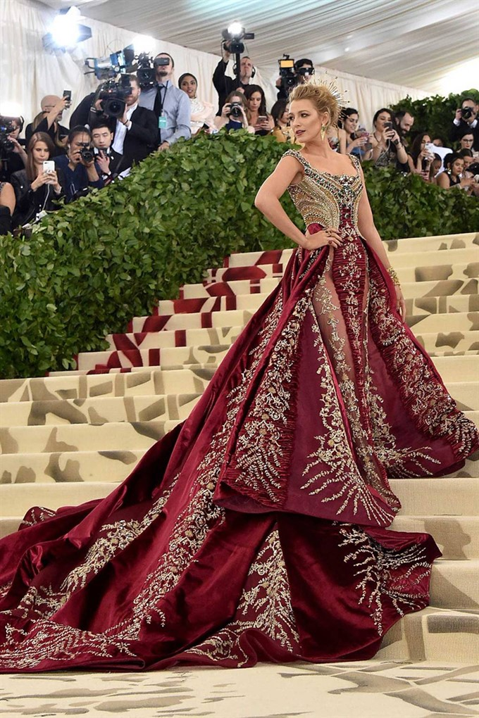 The Bride's Diary | Heavenly Couture: Met Gala 2018 | Blake Lively