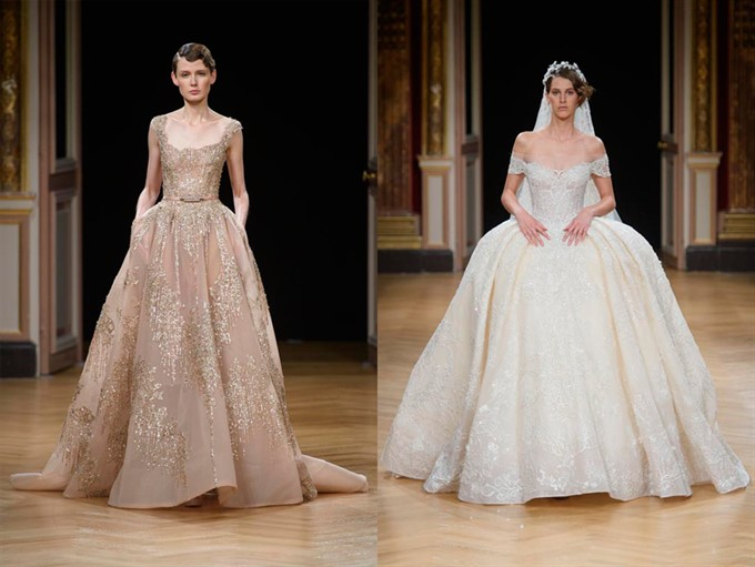 Ziad nakad haute couture fall winter 2016 2017 for Ziad nakad wedding dresses prices