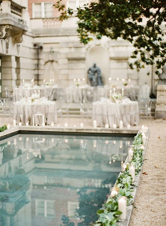 The Bride's Diary | Styling With Gold For A Summer Wedding | Outdoor Wedding Reception