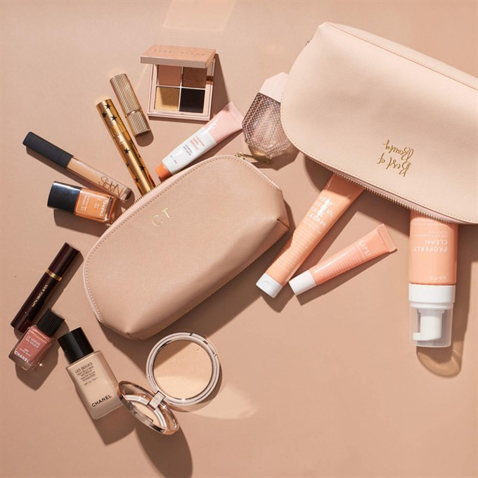 The Bride's Diary | Products To Keep On Your Desk | The Daily Edited Makeup Bag