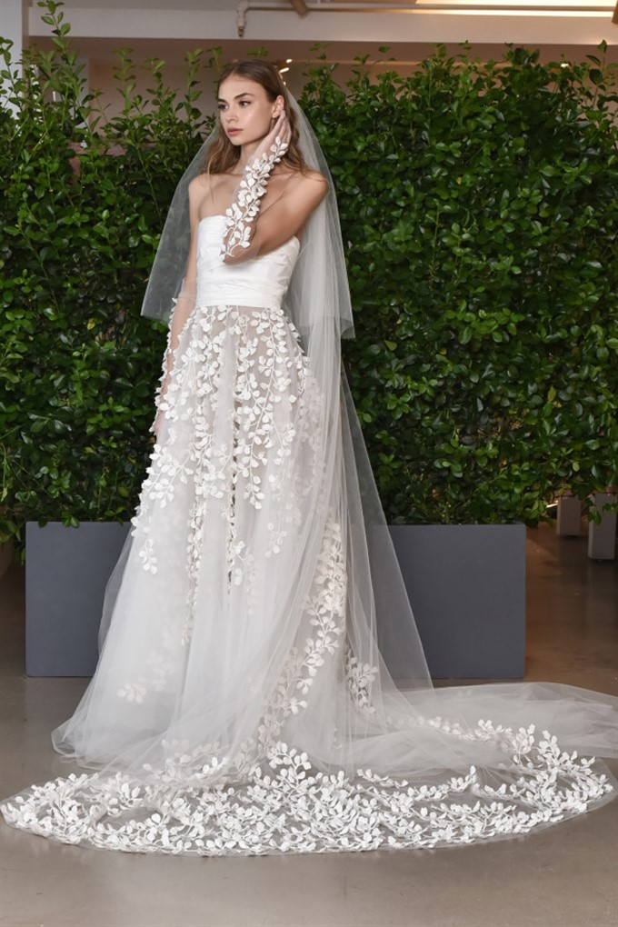 The Bride's Diary | Bridal Fashion Trends For Spring 2019 | Oscar de la Renta