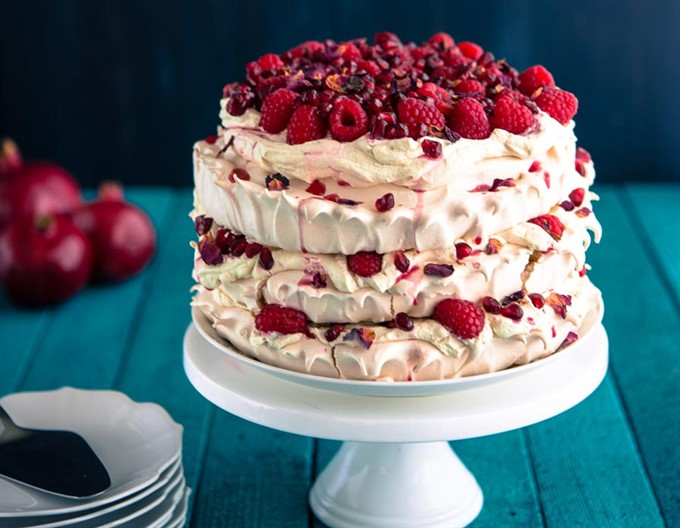 3. Layered Meringue Cake