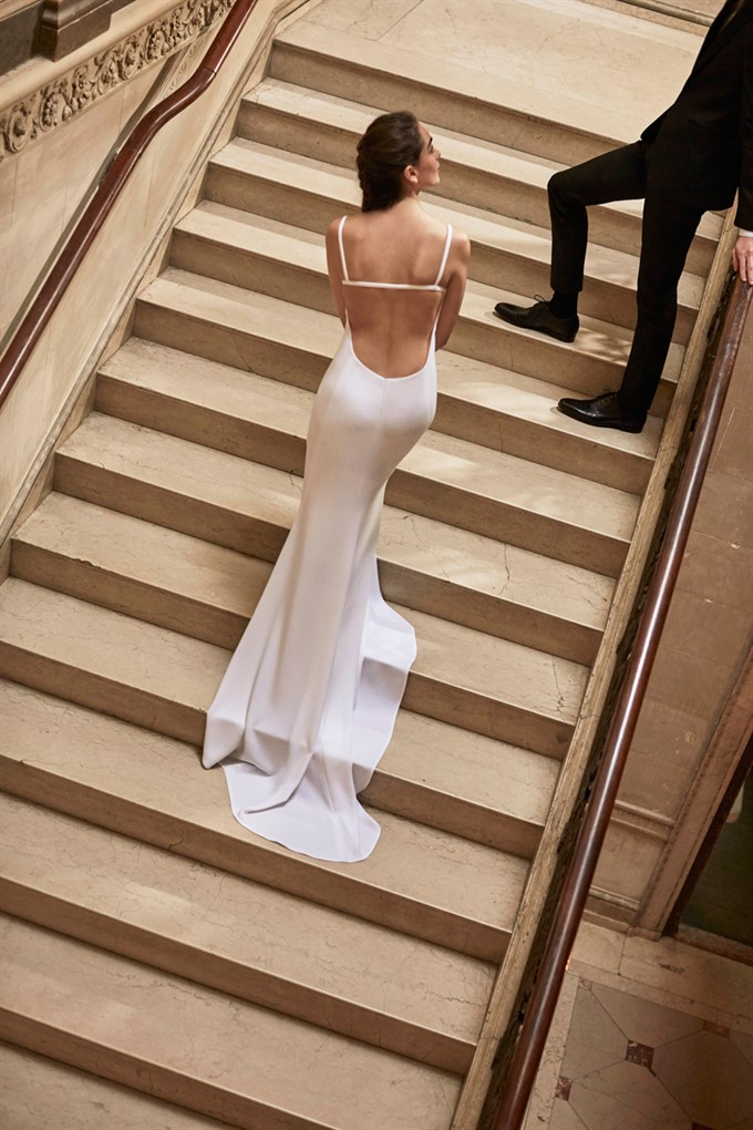 The Bride's Diary | Carolina Herrera Bridal Spring 2019 | Harrison Gown