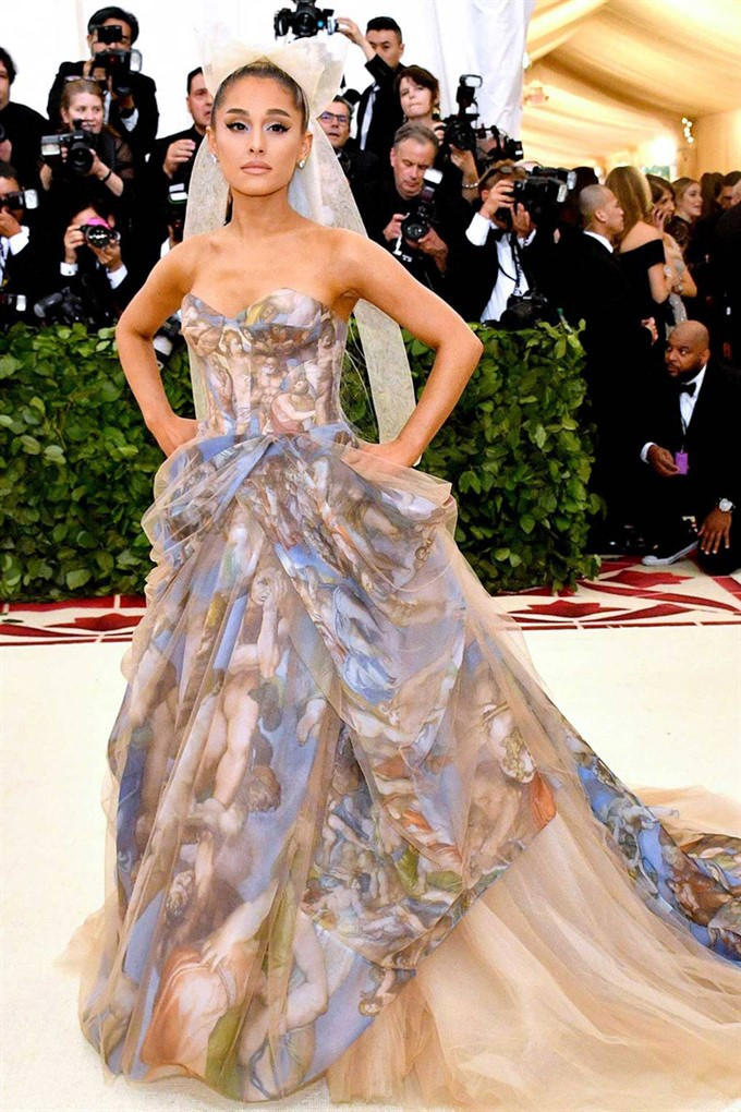 The Bride's Diary | Heavenly Couture: Met Gala 2018 | Ariana Grande