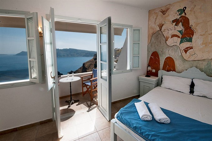 5. Explore Santorini while you stay in this traditional Greek abode