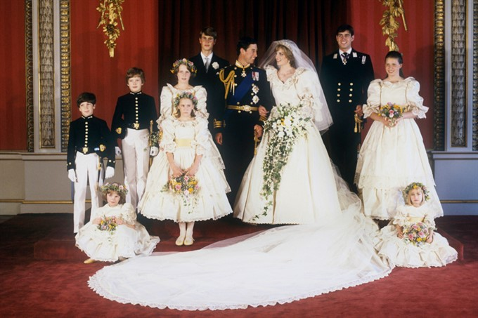 The Most Stylish Royal Brides | Lady Diana Spencer