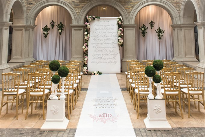 Unique Aisle Runner