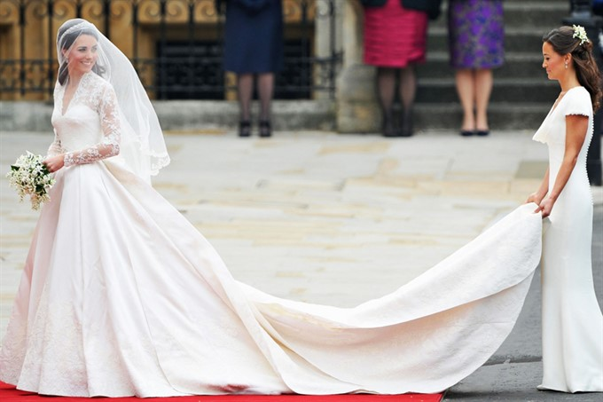 The Most Stylish Royal Brides | Kate Middleton