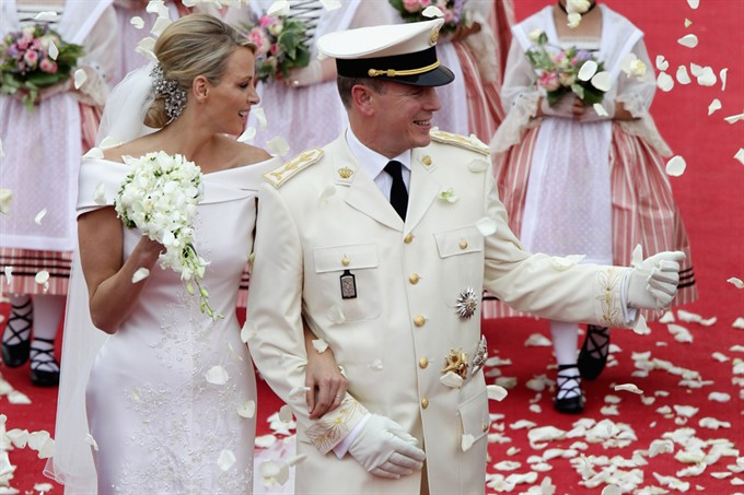 The Most Stylish Royal Brides | Charlene Wittstock