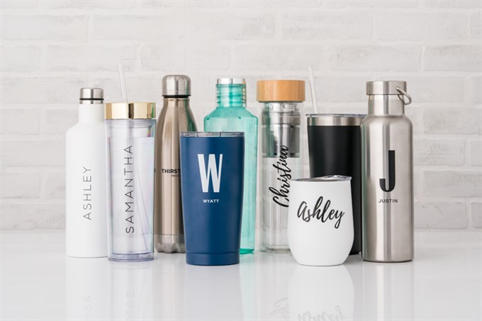 1. Chic Water Bottles