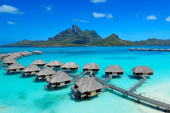 3. Four Seasons Bora Bora, French Polynesia