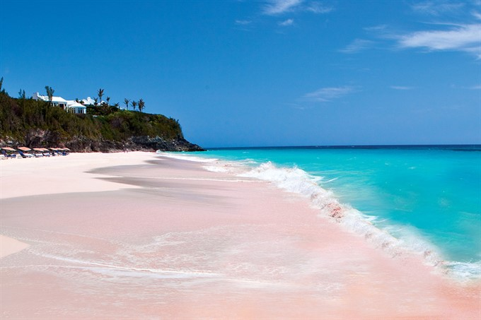 6. Pink sands of Harbour Island, Bahamas