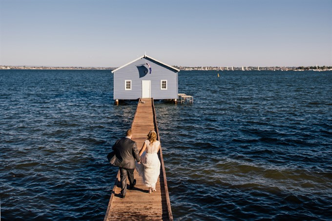 The Bride's Diary | Breathtaking Photo Locations Across Perth | Blue Boat House Perth