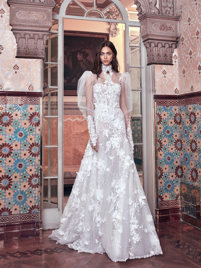 Galia Lahavs Victorian Affinity Collection The Brides Diary