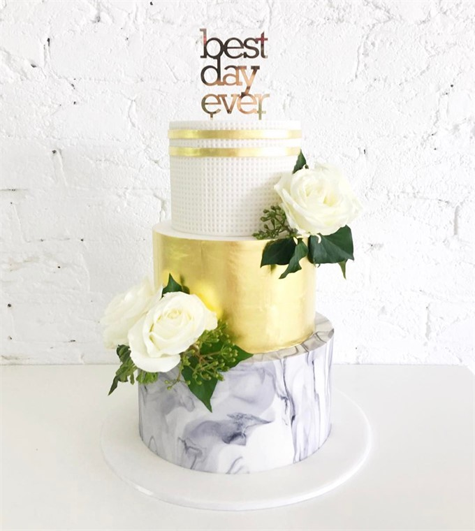 Wedding Cake Trends For 2018