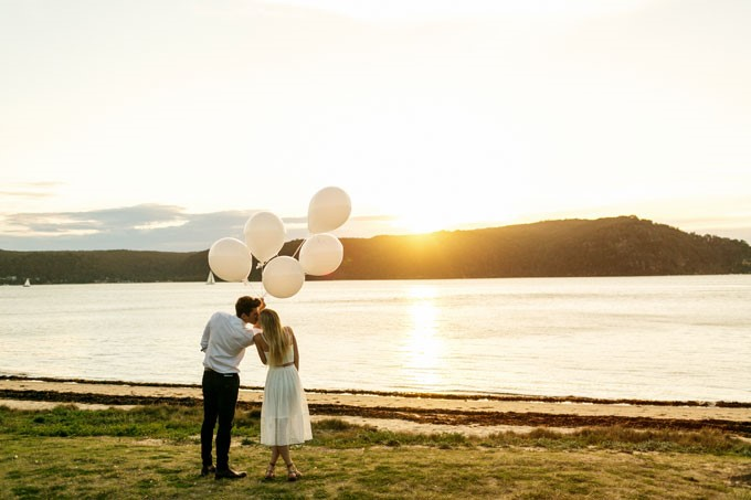 What To Do With The Images From Your Engagement Shoot | At Dusk