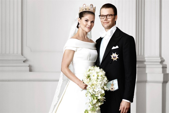 The Most Stylish Royal Brides | Crown Princess Victoria of Sweden