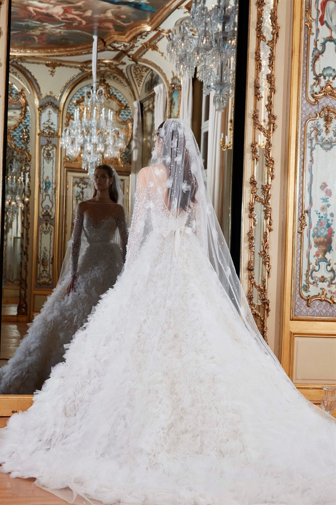 The Bride's Diary | Elie Saab Bridal Spring 2019 | Elie Saab Wedding Gown