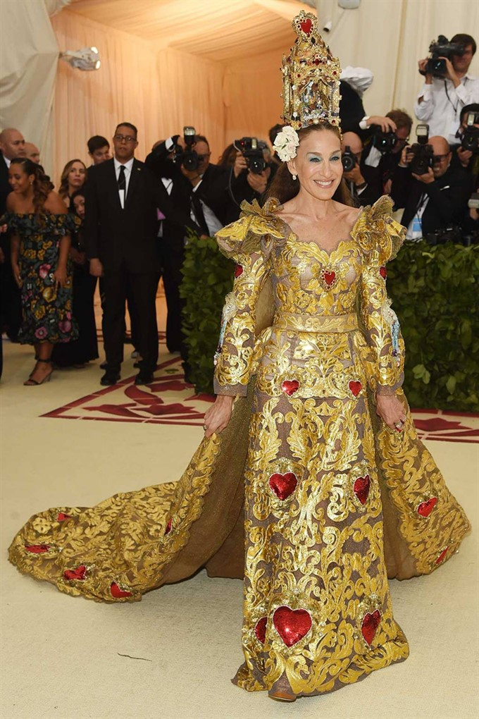 The Bride's Diary | Heavenly Couture: Met Gala 2018 | Sarah Jessica Parker