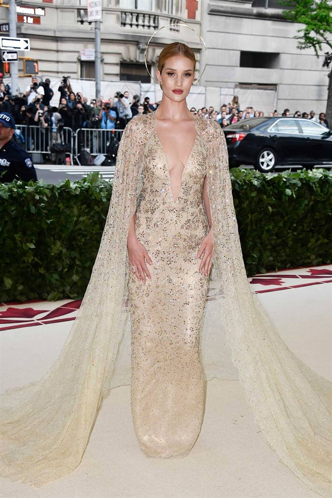 The Bride's Diary | Heavenly Couture: Met Gala 2018 | Rosie Huntington-Whiteley
