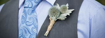 Fashionable Boutonniere Ideas