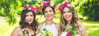 Wedding Hair Trends: Flower Crown