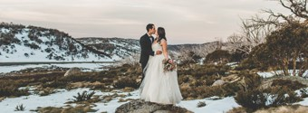 Romantic Winter Wedding Destinations: Snowy Mountains