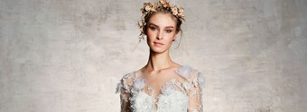 Marchesa Bridal Spring 2019: A Sea Of Flowers