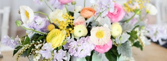 Floral Arrangements For Summer Weddings