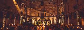 Wedding Styling Trends: Light-Up Letters