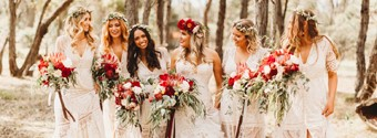 Dressing Your Bridesmaids & Flower Girl