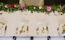 Corey Wright Photographer | DiVino Ristorante | Reception Styling