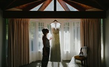 Corey Wright Photographer | DiVino Ristorante | Wedding Dress