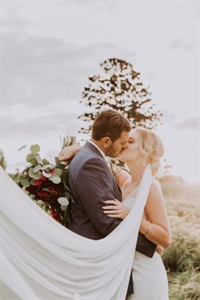Shutter and Lace | Queensland Wedding | Sunset
