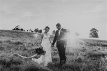 Shutter and Lace | Queensland Wedding | Black and White