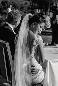 Lake Crackenback Resort | Lauren Paterson Photography | Bride At Wedding Ceremony