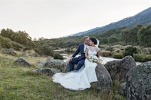 Lake Crackenback Resort | Lauren Paterson Photography | Bride And Groom By Water