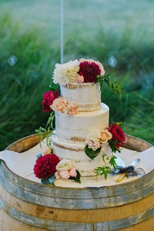 Corey Wright Photographer | DiVino Ristorante | Wedding Cake