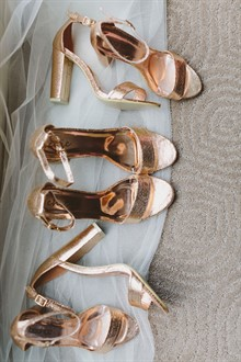 Beck Rocchi Photography | Melbourne Wedding | Bridesmaids' Shoes