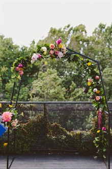 Beck Rocchi Photography | Melbourne Wedding | Ceremony Arbour