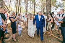 Esh Photography | Real Wedding | Bohemian Ceremony