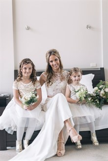 Aleksandar Jason | Real Wedding | Flower Girls