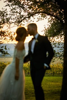 R Weddings | Yarra Valley Wedding | Sunset