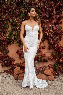 Corston Couture | Wedding Gowns | Strapless Lace Wedding Dress