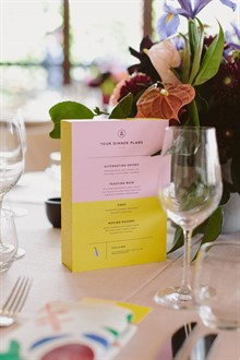 Beck Rocchi Photography | Melbourne Wedding | Menu