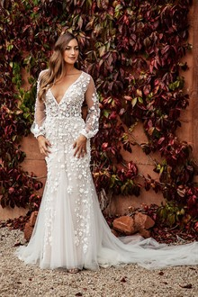 Corston Couture | Wedding Gowns | Lace Long Sleeve Wedding Dress