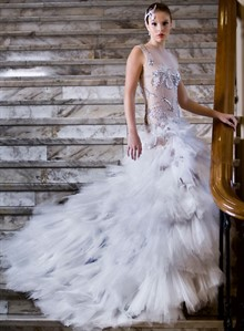 Alexis George | Tulle Bridal Gown