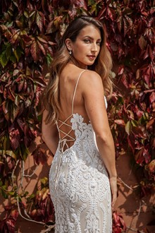 Corston Couture | Wedding Gowns | Lace Up Wedding Dress