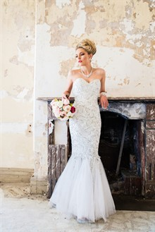 Alexis George | Strapless Wedding Dress